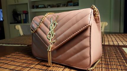 Handbag genuine leather