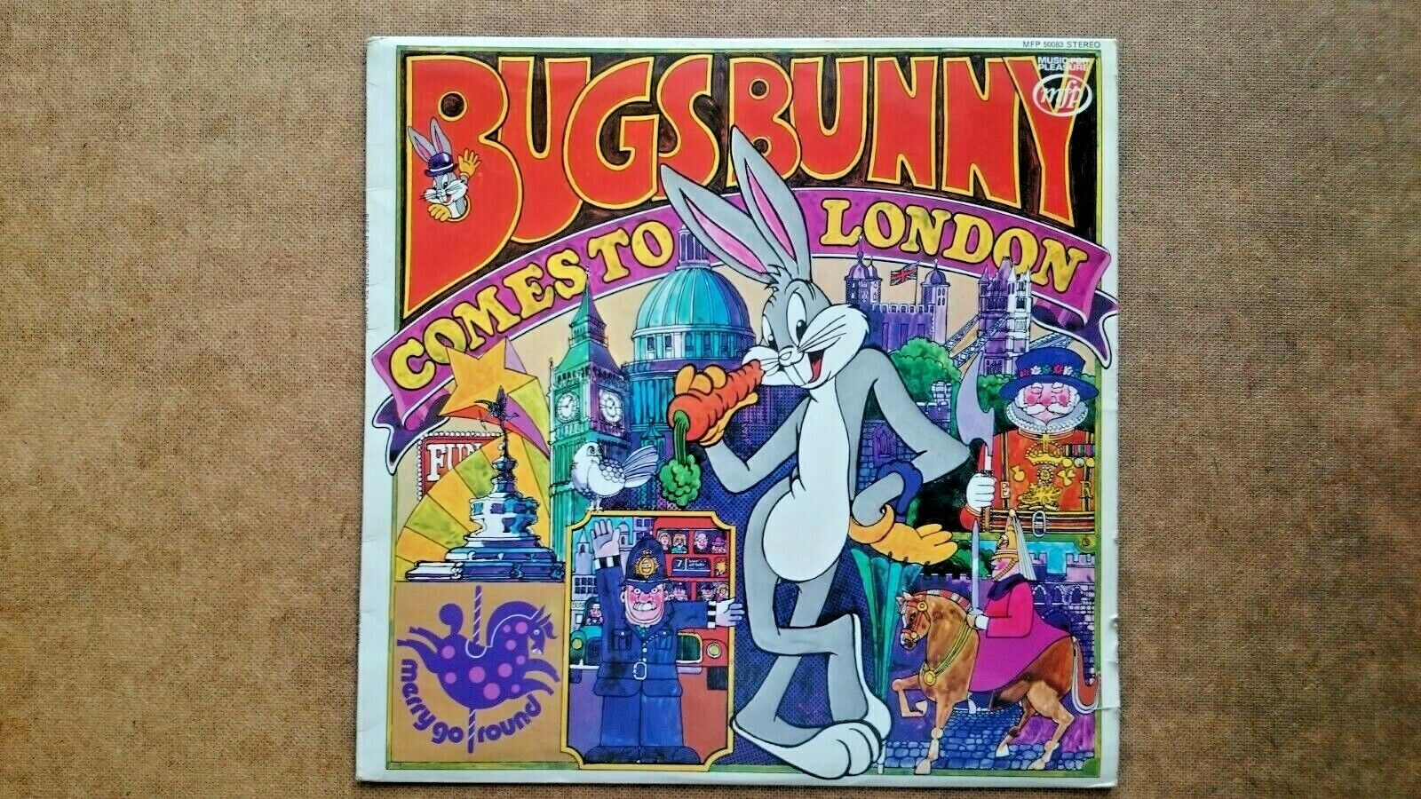 Bugs Bunny Comes to Town Vinyl LP Record (1973)