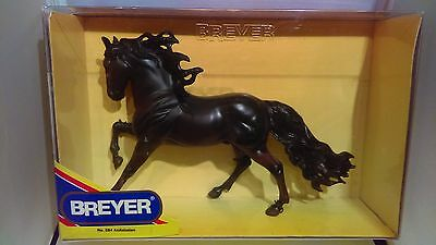 Breyer Traditional - Andalusian - Black Andalusian Stallion - MINT! - NIB!
