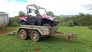 Kymco Buggy and Trailer package Tarzali Tablelands Preview