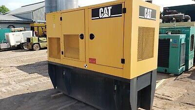 60kw Cat Generator 07 D60-4s 240120v 1ph 7143 Hours