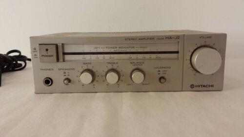 Vintage Hitachi HA-J2 Miniature Stereo Amplifier