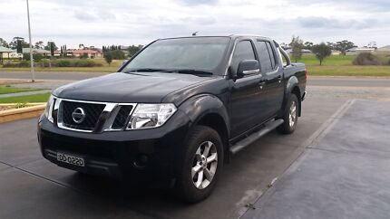 2013 D40 Nissan Navara ST 4x4 Two Wells Mallala Area Preview