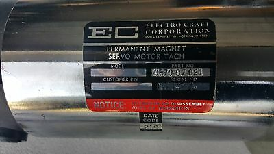 Electro-Craft 0670-07-021 Permanent Magnet Motor  - Electro Permanent Magnet
