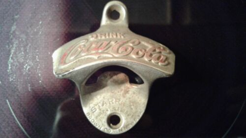 "Original STARR ""X"" Coca-Cola Bottle Opener circa 1920"
