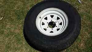 Yokohamma Super Digger Tyre plus Sunraysia rim 265 x 75R 15 Liverpool Liverpool Area Preview