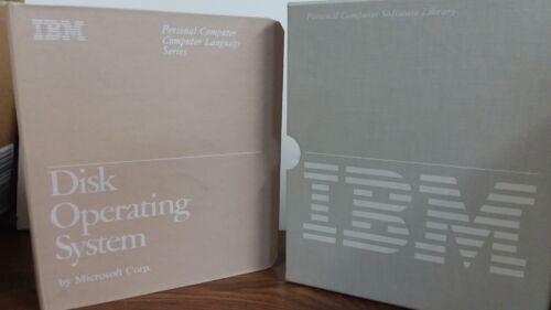 IBM DOS 2.10, VINTAGE SOFTWARE, 1983, RARE, COLLECTIBLE