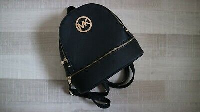 MK *STYLE!* Jet Set PVC Backpack Faux Leather /Fabric Bag Rucksack