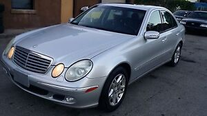 2003 Mercedes Benz E 320 one owner clean car one year warranty