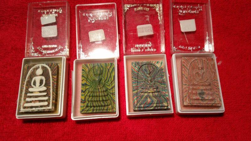 4  Luang Phor Pae Amulets--Famous Thai Monk-- LP Pae