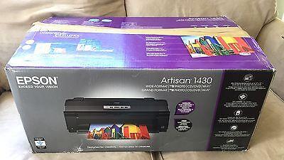 Epson ARTISAN 1430 Digital Photo Inkjet Printer Wide-format Wireless