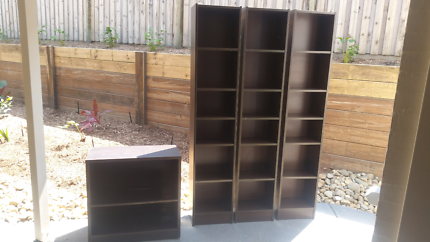Bookcases and shelving unit