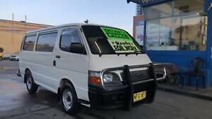 1999 Toyota Hiace  LPG & Petrol ! Fully Serviced & Inspected Granville Parramatta Area Preview