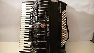 scandalli polifonico xiv 120 bass piano accordion made in Italy Epping Whittlesea Area Preview