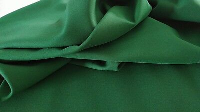"""Green Evergreen Gabardine Tropical 100% Polyester 60 to 62"""" wide Free swatches for sale  Miami"""