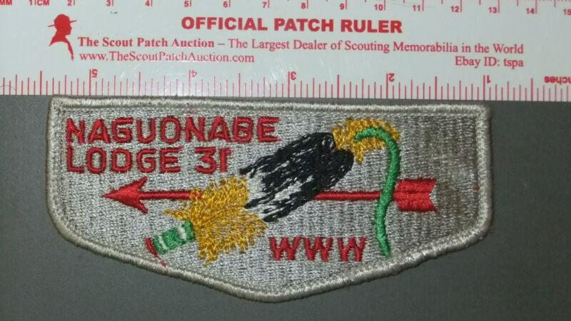 Boy Scout OA 31 Naguonabe flap 7535II