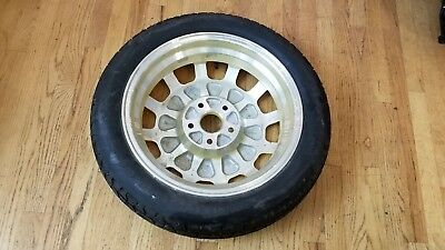 "OEM 2005-2008 Acura RL 17""x4"" Compact Aluminum Emergency Spare Wheel Tire Donut"