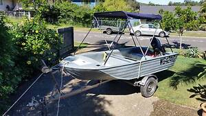 3.7m Bushman Stubby Open Poly Runabout Ferny Grove Brisbane North West Preview