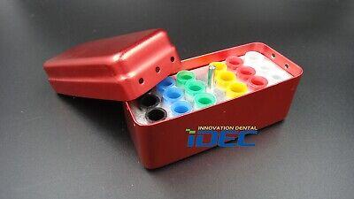 Dental Lab Gutta Percha Point Holder Block Sterilizer Case Disinfection Endo Box
