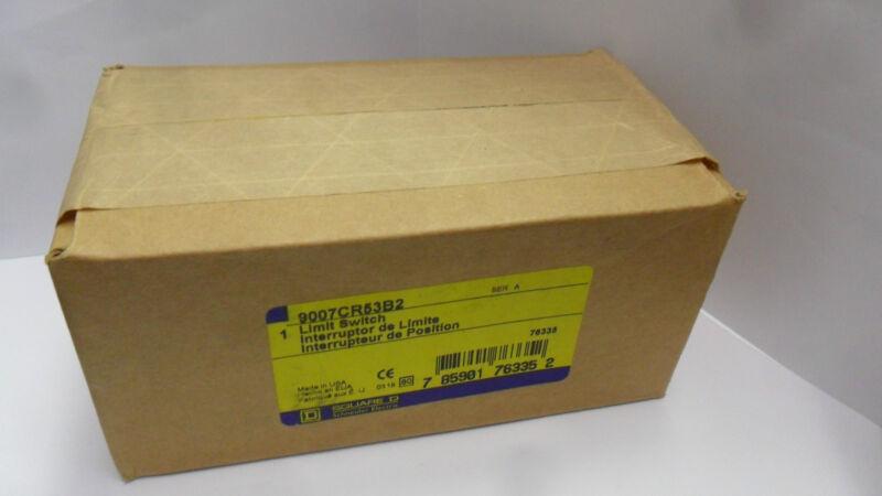 New Square D 9007CR53B2 Explosion Proof  Hazardous Location Limit Switch NIB