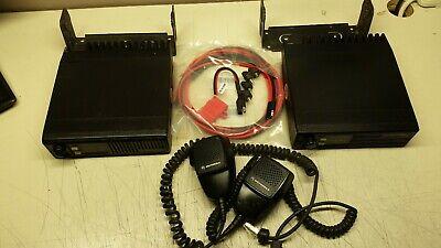 Gmrs Lot Of 2 Motorola Radio Uhf 440 -470 Mhz 30 Watt Ham Gmrs Free Program Mics
