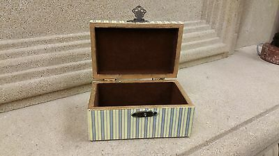 Decorative Jewelry Box Victorian Motif