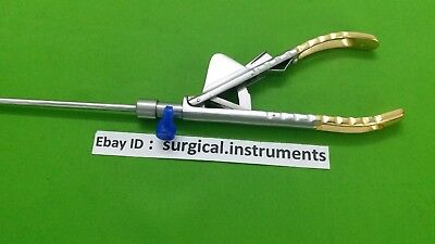 Needle Holder Curvd Jaw 5mmx330mm Laparoscopy Endoscopy Surgical Instruments
