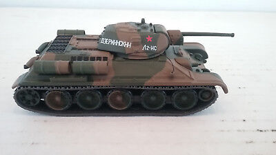 1/72 scale Matchbox Collectable  Diecast WWII Soviet T-34 / 76  Tank