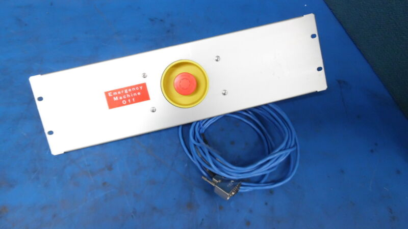 Tokyo Electron Limited Tel Emergency Shut Off Panel From Unity Ep System