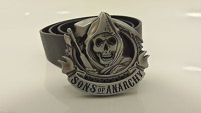 Sons Of Anarchy Belt Buckle SAMCRO  | With /