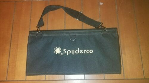 Spyderco Small SpyderPac 18-Knife Carrying Case Black Polyester Cordura