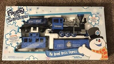 Frosty the Snowman Grand Arctic Express Train Set Holiday Xmas 2010 - OPEN BOX