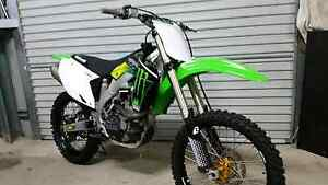 KX 450F  4 stroke motocross Gladstone Gladstone City Preview