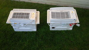 Two Haier Window Air Conditioners