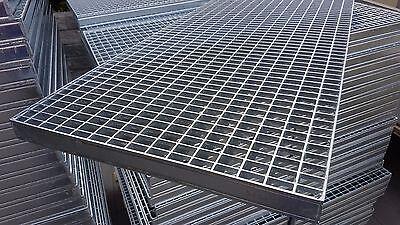 Industrie Gitterrost 1000x500 mm, MW 20/30 mm, Tragstab 40/3 mm befahrbar