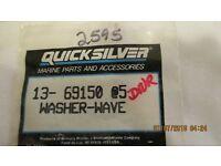 New Mercury Mercruiser Quicksilver Oem Part # 13-29720 Washer-Wave