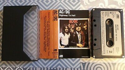 K7 Audio AC/DC Highway To Hell 1979 first press K 450 628 Atlantic Germany TBE, usado comprar usado  Enviando para Brazil