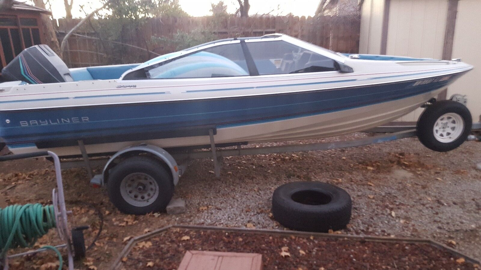1988 Bayliner Powerboat w Motor & Trailer, Sun Valley NV | No Fees & No Reserve