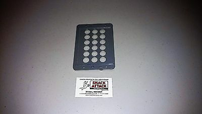 Dixie Narco Bev Max 4 - 5800 Key Pad Bezel Cover Grey - Free Shipping