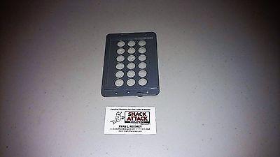 Dixie Narco Bev Max 4 - 5800 Key Pad Bezel Cover Grey - Free Shipping