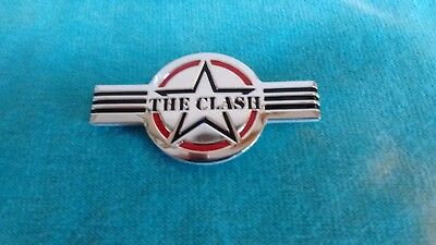 The Clash Star Logo 1.5 Inch Metal Metallic Sticker