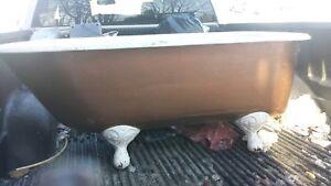 Cast iron tub
