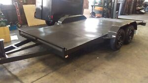 Car trailer brand new 15x6'6 with beaver tail