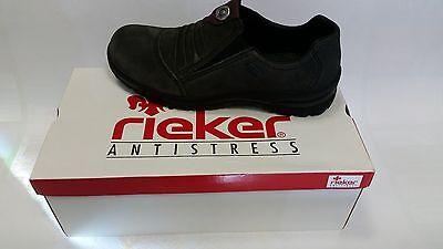 Rieker Damen Schuhe Damenschuhe Halbschuhe Größe 38 grau ** Neu ** online kaufen