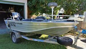 Quintrex 385 Explorer  20hp yamaha Bundaberg Central Bundaberg City Preview