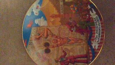 Ringling Bros. and Barnum & Bailey Circus Collector Plate ~ MIDWAY