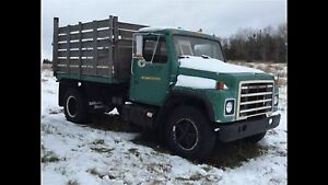 1982 International Dump Truck Diesel