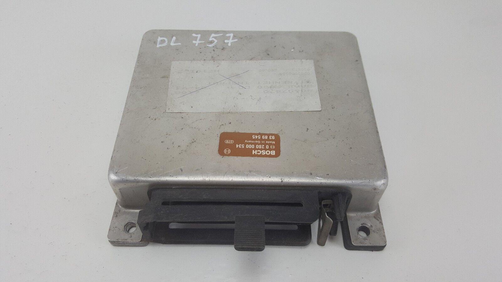 DL757 SAAB CONTROL MODULE ECU 0280000534 / 9389545