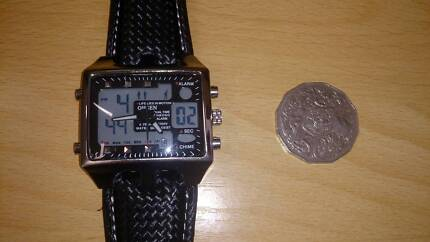 Men Watch Digital Dual time Big Size for the Young Man (Albury) Albury Albury Area Preview