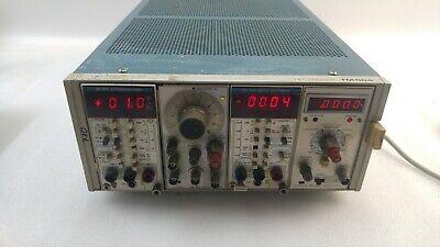 Tektronix Tm504 Power Module With Dm 502a Fg 502 Dm 501a Dc 504